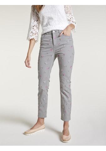 Jeans Amirela mit Stickerei kaufen