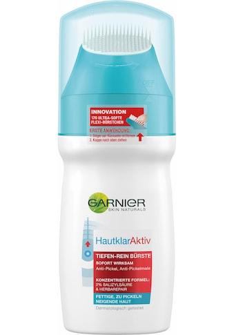 GARNIER Gesichts-Reinigungslotion »Hautklar Aktiv Tiefenrein Bürste« kaufen