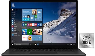 "Microsoft Notebook »Surface Laptop 4«, (34,29 cm/13,5 "" Intel Core i7 Iris Plus... kaufen"
