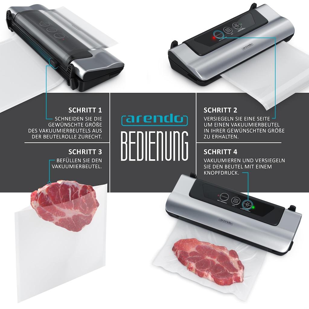 Arendo Vakuumiergerät zur Aufbewahrung von Lebensmitteln