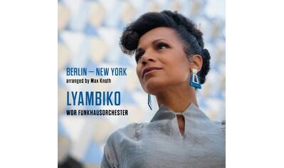 Musik-CD »Berlin-New York / Lyambiko & WDR Funkhausorchester« kaufen