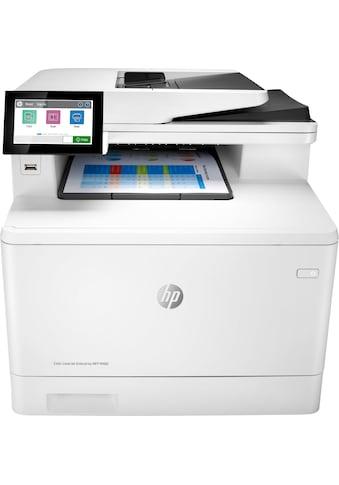 HP Laserdrucker »Color LaserJet Enterprise MFP M480f« kaufen