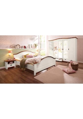 Home affaire Schlafzimmer-Set »Konrad«, (Set, 5 St.), mit 5-trg. Kleiderschrank, Bett... kaufen