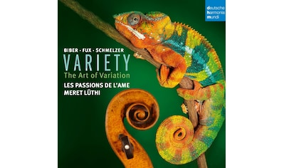 Musik-CD »Variety-Variation in Music for Violin / Passions de l'Ame,Les« kaufen