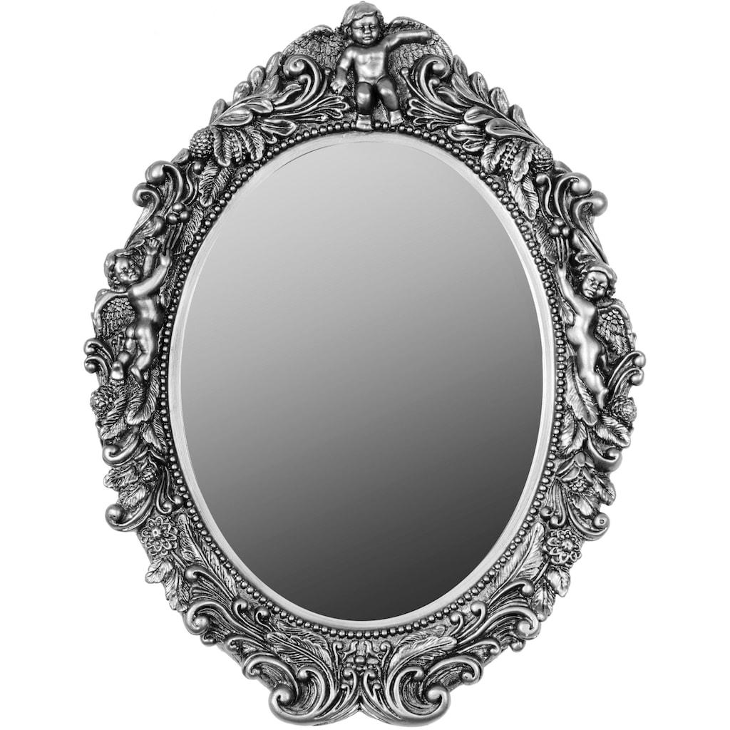 Myflair Möbel & Accessoires Spiegel, mit Antik-Finish und Facettenschliff