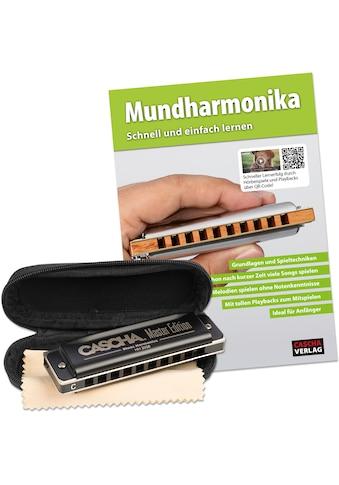 Cascha Mundharmonika-Set »Master Edition Blues Harmonica«, inkl. Lernbuch kaufen