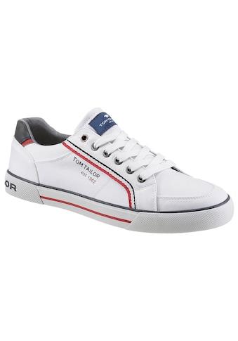 TOM TAILOR Sneaker, mit gestreiftem Textilband kaufen