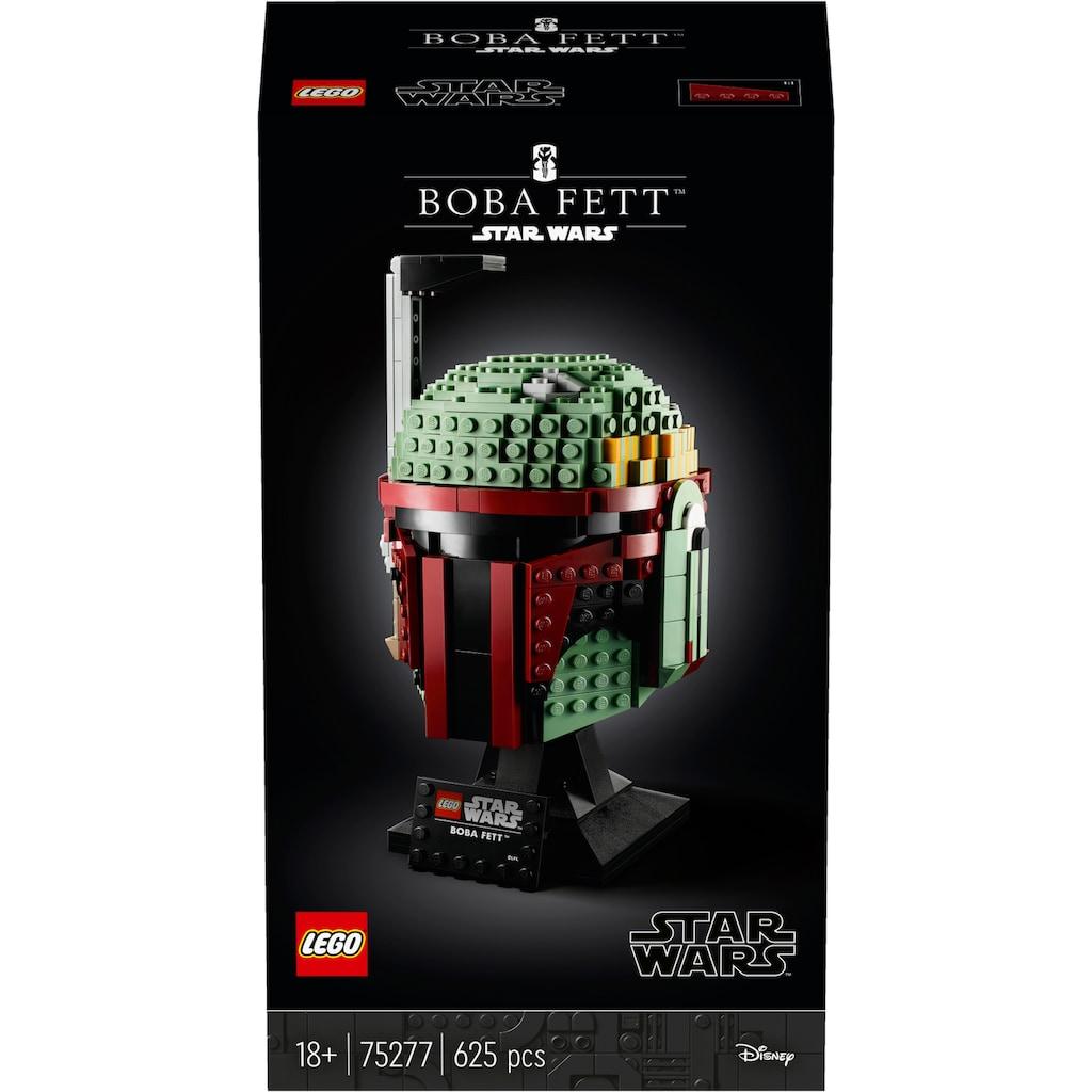 LEGO® Konstruktionsspielsteine »Boba Fett™ Helm (75277), LEGO® Star Wars™«, (625 St.), Made in Europe
