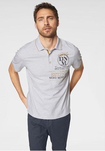 Man's World Poloshirt, in melierter Optik kaufen
