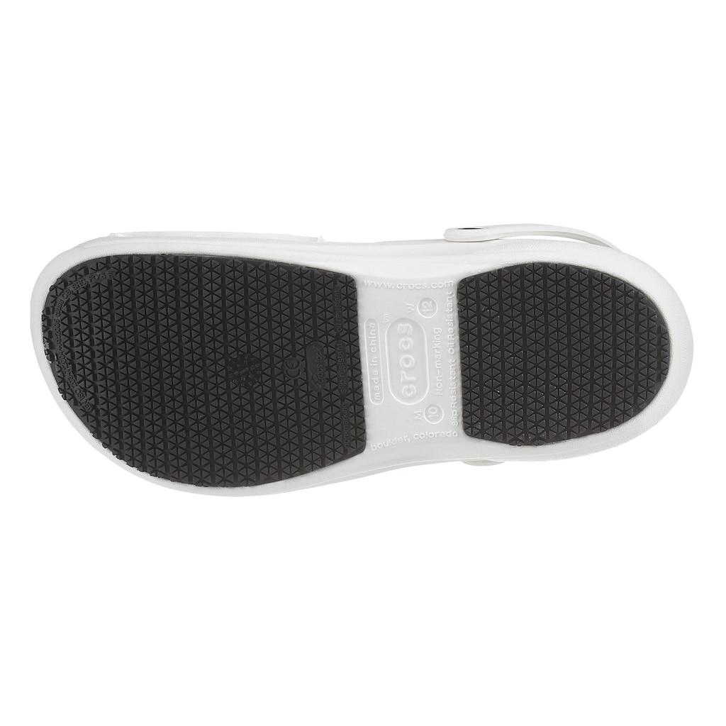 Crocs Clog »Bistro Speziell für Mitarbeiter im Hotel-, Gaststätten- und Gesundheitsbereich«, mit geschlossenem Fußbereich