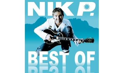 Musik-CD »Best Of / Nik P.« kaufen
