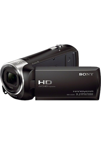 Sony Camcorder »HDR-CX240E«, Full HD, 27x opt. Zoom, Composite Video Ausgang kaufen