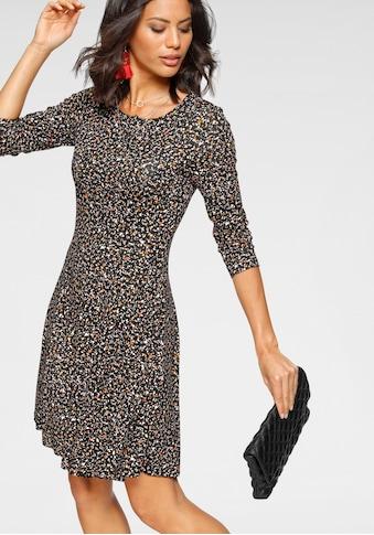 Laura Scott Jerseykleid, mit modischem Allover-Print - NEUE FARBEN kaufen