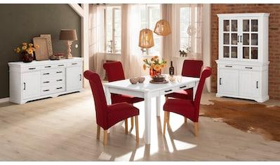 Home affaire Esstisch »Anabel«, aus massiver Kiefer kaufen
