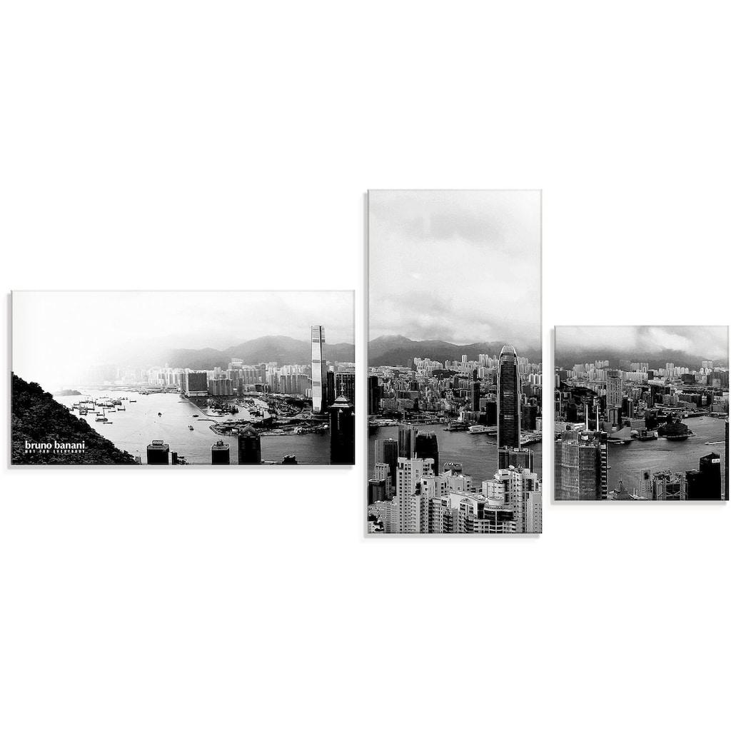 Artland Wandbild »Skyline Dubai«, Asien, (3 St.), in vielen Größen & Produktarten - Alubild / Outdoorbild für den Außenbereich, Leinwandbild, Poster, Wandaufkleber / Wandtattoo auch für Badezimmer geeignet