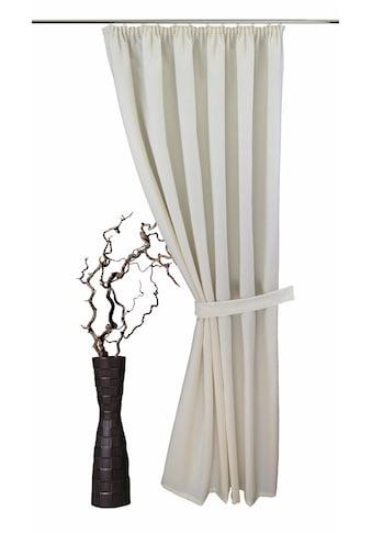 Vorhang, »Gerti«, VHG, Kräuselband 1 Stück kaufen