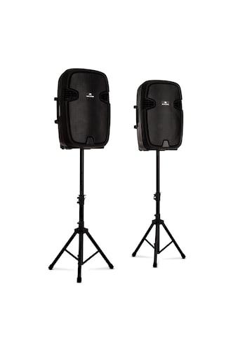 Malone PA-Lautsprecher aktiv und passiv max. 800W Bluetooth schwarz »Combo 2« kaufen