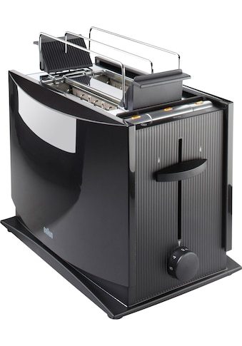 Braun Toaster »Multiquick 3 HT 450«, 2 kurze Schlitze, 950 W kaufen