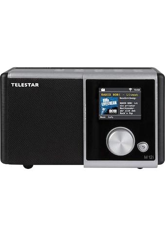 TELESTAR Internet-Radio »M 12i«, (Digitalradio (DAB+)-FM-Tuner-Internetradio), USB... kaufen