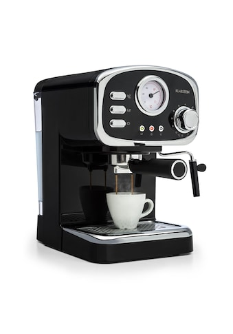 Klarstein Espressionata Gusto Espressomaschine 1100W 15 Bar »TK3G - « kaufen