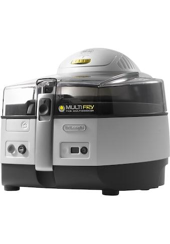 De'Longhi Heissluftfritteuse »MultiFry EXTRA FH1363«, Multicooker mit 4-in-1 Funktion, auch zum Brotbacken, Fassungsvermögen 1,7 kg kaufen