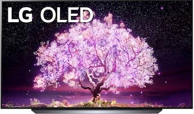 """LG OLED-Fernseher »OLED77C17LB«, 195 cm/77 """", 4K Ultra HD, Smart-TV, (bis zu 120Hz)-α9... kaufen"""