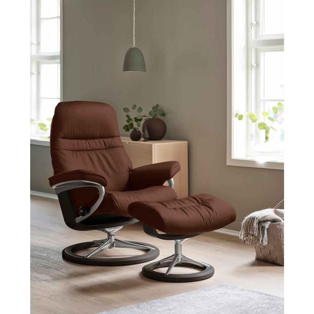 Stressless® Relaxsessel »Sunrise«, mit Signature Base, Größe M, Gestell Wenge