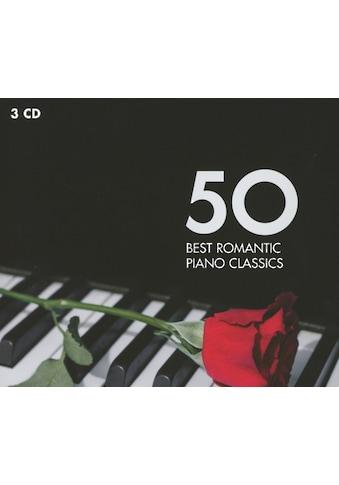 Musik-CD »50 Best Romantic Piano Classic / Andsnes/Collard/Pollini/Hough« kaufen