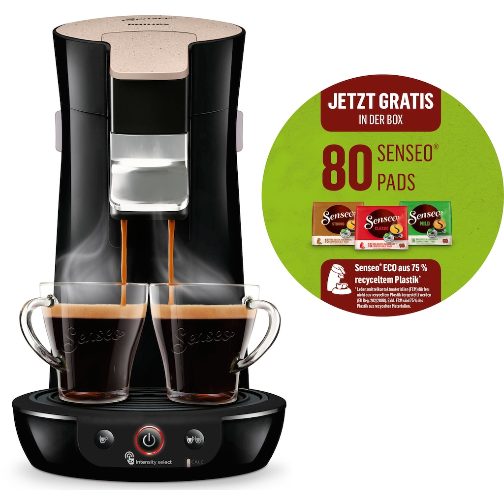 Senseo Kaffeepadmaschine Viva Café Eco HD6562/32