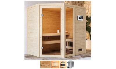 Karibu Sauna »Josie«, 9-kW-Ofen mit ext. Steuerung kaufen
