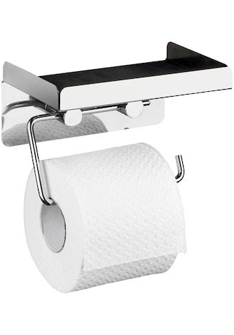 WENKO Toilettenpapierhalter, 2in1 Kombination kaufen