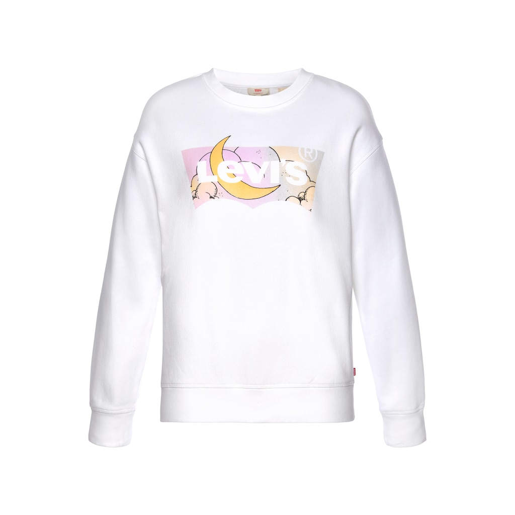 Levi's® Sweatshirt »Graphic Standard Crew«, mit Batwing-Print in Mond-Optik