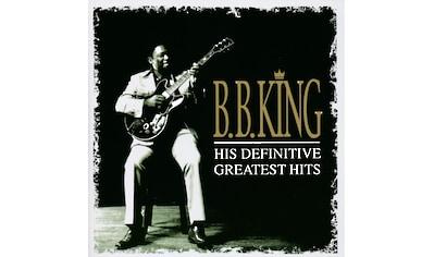 Musik-CD »HIS DEFINITIVE GREATEST HI / King,B.B.« kaufen