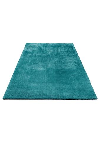 Bruno Banani Hochflor-Teppich »Dana«, rechteckig, 30 mm Höhe, Besonders weich durch Microfaser, Wohnzimmer kaufen