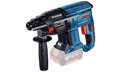 Bosch Professional Akku-Bohrhammer »GBH 18V-21 Professional«, kabelloser Komfort und... kaufen
