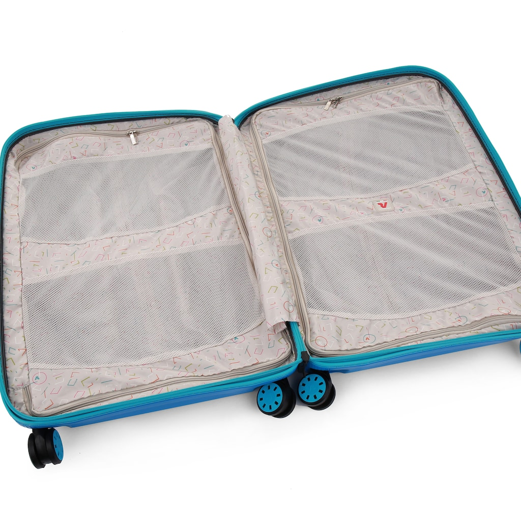 RONCATO Hartschalen-Trolley »BOX Young, 55 cm«, 4 Rollen, Made in Europe