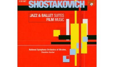 Musik-CD »Jazz & Ballet Suites/Film Music / Kuchar,Theodore/National Symphony... kaufen