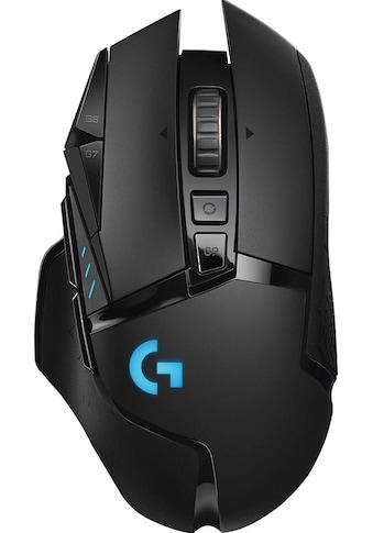 Logitech G Gaming-Maus »G502 LIGHTSPEED Wireless EER2«, Funk kaufen