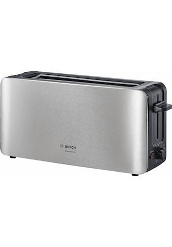 BOSCH Toaster »ComfortLine TAT6A803«, 1 langer Schlitz, für 2 Scheiben, 1090 W kaufen