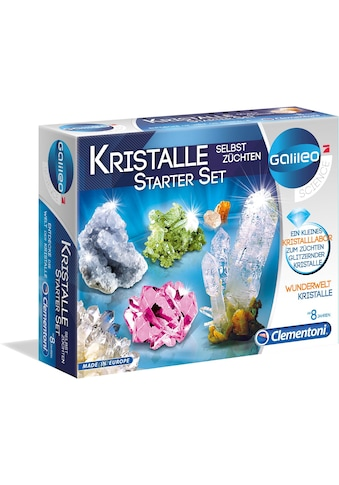 Clementoni® Experimentierkasten »Galileo Kristalle selbst züchten, Starter-Set«, Made... kaufen