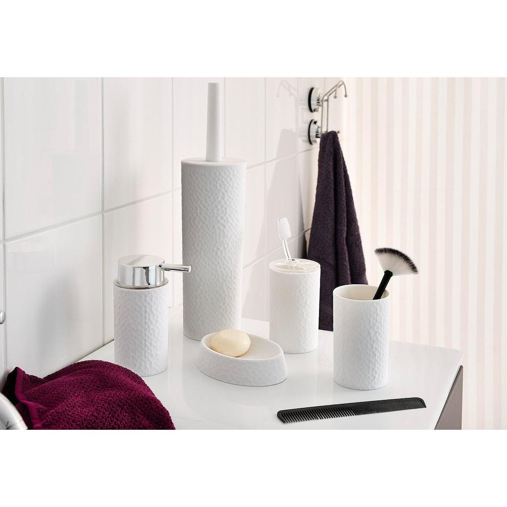 Ridder Zahnputzbecher »Crimp«, mit Soft-Touch Oberfläche
