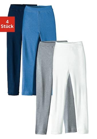Lange Unterhose, (4 St.), für Jungs und Mädchen kaufen