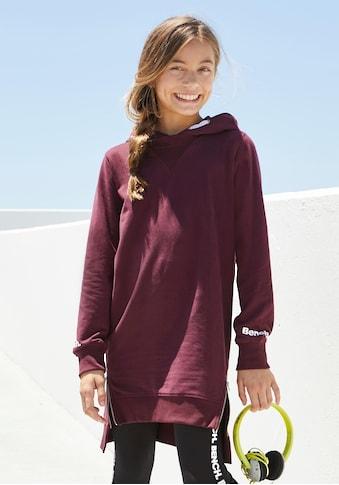 Bench. Sweatkleid, mit modischen Reißverschlüssen kaufen