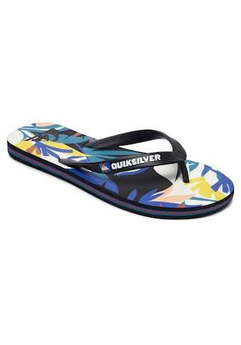 Quiksilver Sandale »Molokai Tropical Flow« kaufen