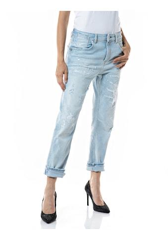 Replay Boyfriend-Jeans »Marty«, 7/8 -Jeans im Vintage Style mit Elasthan kaufen