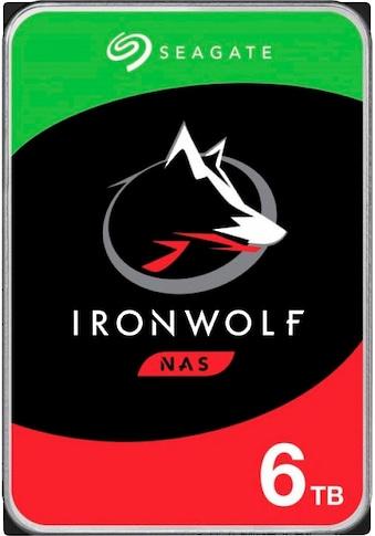 Seagate HDD-NAS-Festplatte »IronWolf 6TB« kaufen