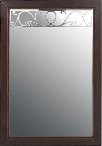 DELAVITA Spiegel »Oscar«, aus Eiche massiv, mit dekorative Frässungen, Breite 70 cm kaufen