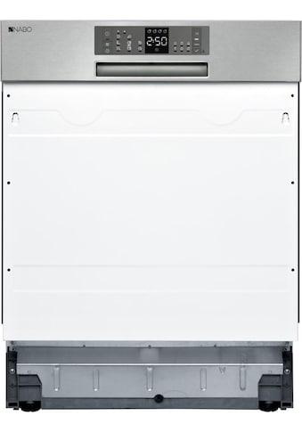 NABO teilintegrierbarer Geschirrspüler, GSI 1510, 9 l, 15 Maßgedecke kaufen