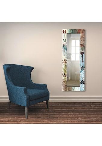 Artland Wandspiegel »Buntes zu Hause in taktvollen Farben«, gerahmter... kaufen