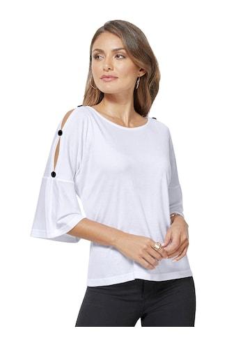 Creation L Shirt mit ausgestelltem Saum kaufen